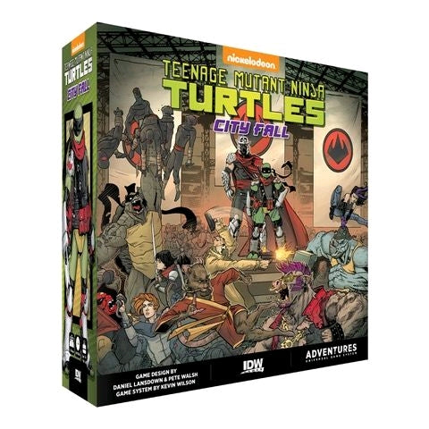 *Pre-order* Teenage Mutant Ninja Turtles - City Fall Board Game (ETA October)