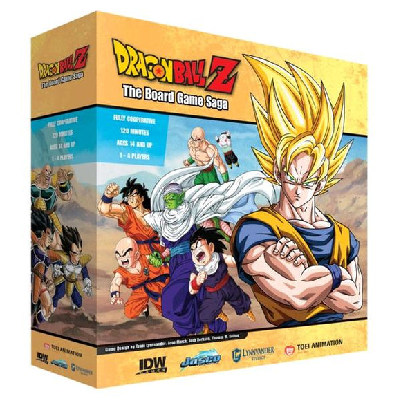 *Pre-order* Dragon Ball Z - The Board Game Saga (ETA December)