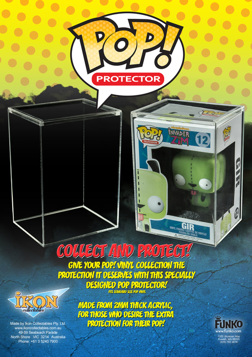 Pop! Protector - Premium 2mm Acrylic Box