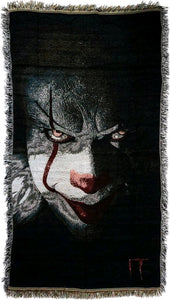It (2017) - Pennywise Face Throw Rug (92 x 147cm)