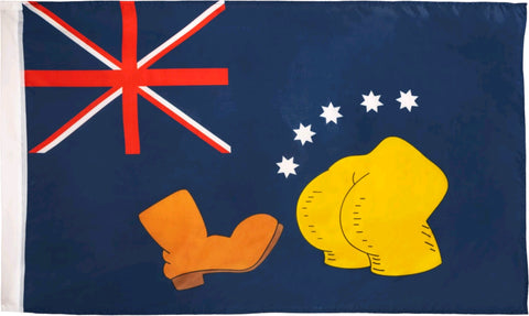 *Pre-order* Simpsons - Bart V Australia Replica Flag (ETA December)