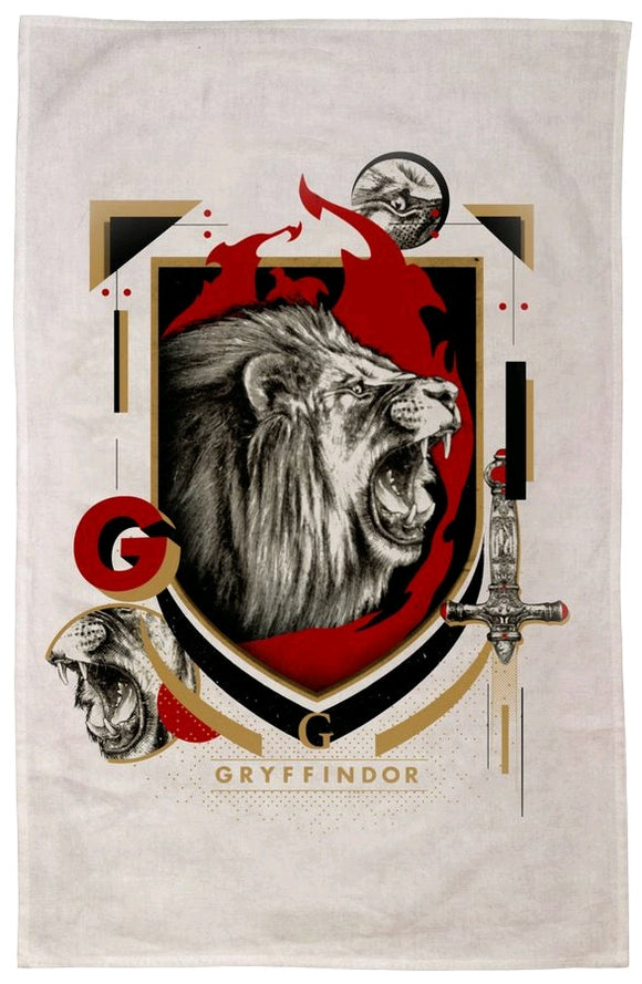 Harry Potter - Gryffindor Tea Towel