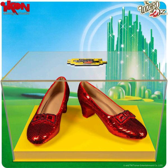 Wizard of Oz - Dorothy's Ruby Slippers Replica, Yellow Brick Road Edition
