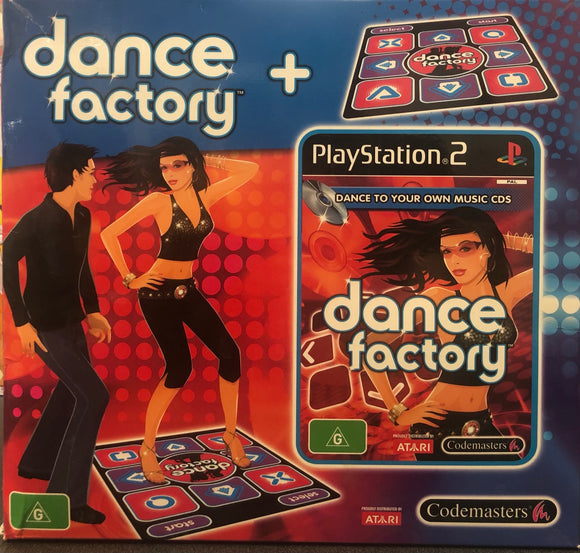 Dance Factory with Dance Mat PS2