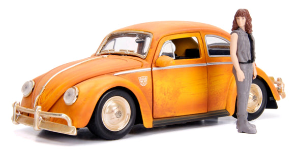 Transformers - 1971 Volkswagon Beetle Bumblebee 1:24 Hollywood Ride