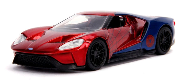 Spider-Man - 2017 Ford GT 1:32 Hollywood Ride