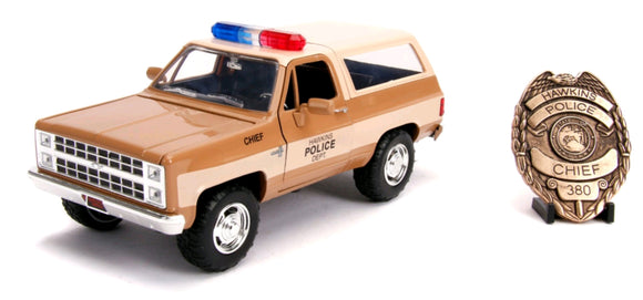 Stranger Things - 1980 Chevy K5 Blazer 1:24 Hollywood Ride
