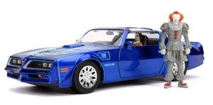 It - 1977 Pontiac Firebird 1:24 with Figure Hollywood Ride