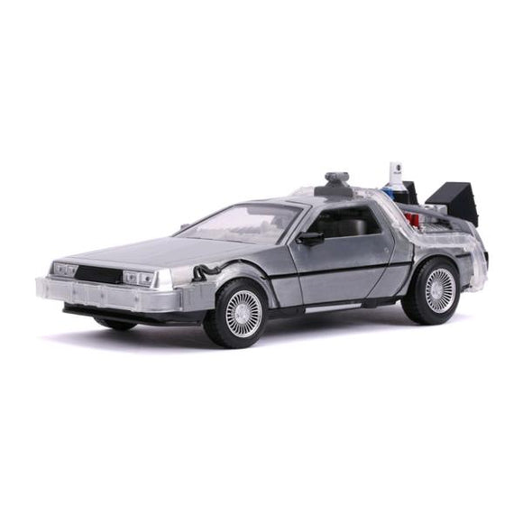 *Pre-order* Back to the Future 2 - Delorean 1:24 Scale Hollywood Ride (ETA May)