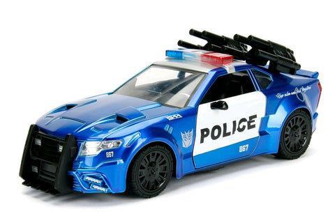 *Pre-order* Transformers - Ford Mustang Barricade 1:24 Hollywood Ride