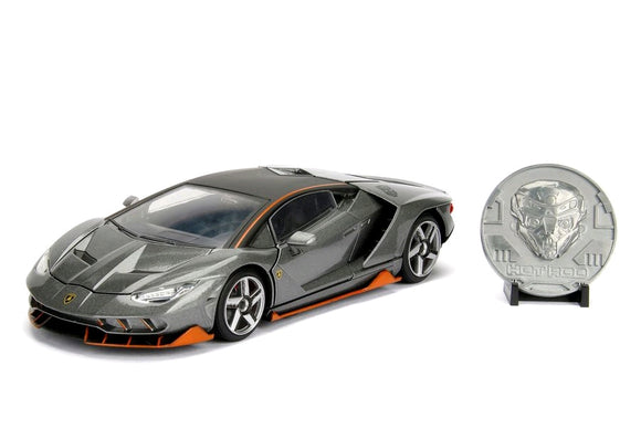 *Pre-order* Transformers - Lamborghini Centenario Hot Rod 1:24 Hollywood Ride (ETA September)