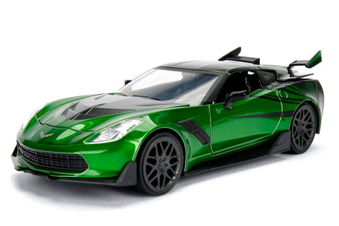 *Pre-order* Transformers - Chevy Corvette Stingray Crosshairs 1:24 Hollywood Ride