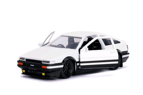 *Pre-order* Initial D - 1986 Toyota Corolla Trueno AE86 1:32 Hollywood Ride