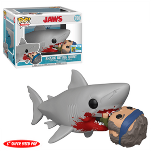 "Jaws Eating Quint 6"" Pop Vinyl SD19"