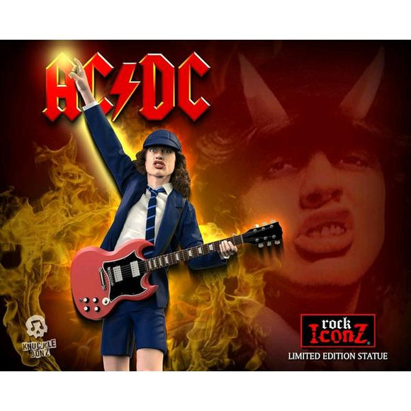 *Pre-order* AC/DC - Angus Young II Rock Iconz Statue (ETA June)