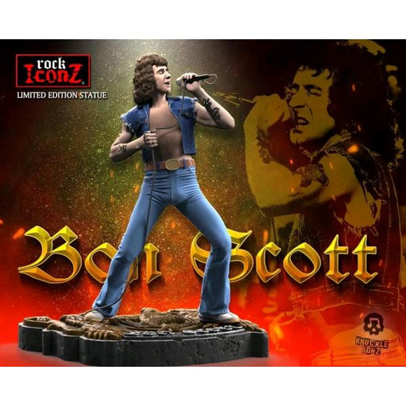 *Pre-order* Bon Scott - Rock Iconz Statue (ETA December)