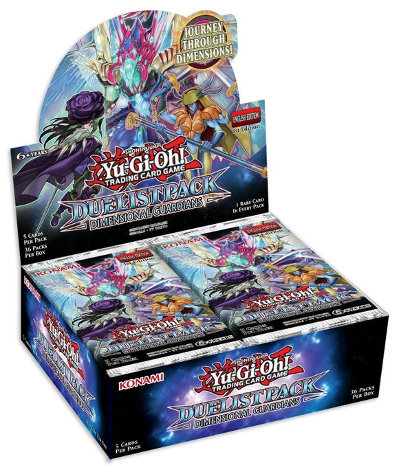Yugioh - Dimensional Guardians Duelist Pack Booster Box
