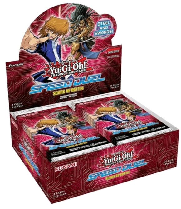 Yugioh - Speed Duel: Scars Of Battle Booster Box
