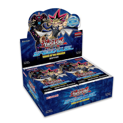 *Pre-order* Yugioh - Speed Duel: Trials of the Kingdom Booster Box (ETA 5th December)