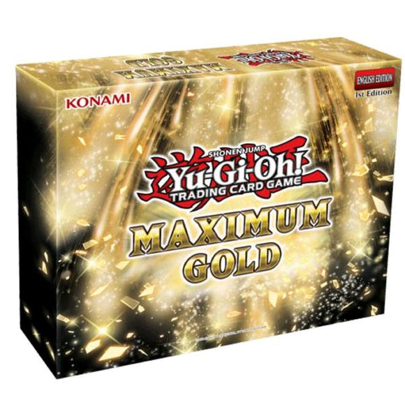 *Pre-order* Yugioh - Maximum Gold (8th October)