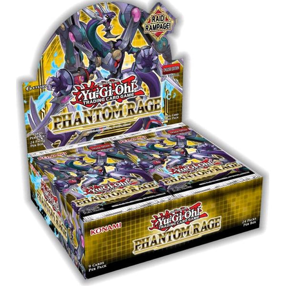 *Pre-order* Yugioh - Phantom Rage Sealed Booster Box (5th November)
