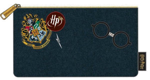 Harry Potter - Hogwarts Logo Blue Purse