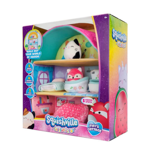 *Pre-order* SQUISHMALLOWS SQUISHVILLE Large Soft Playset (Squishville House Assortment) (ETA June)