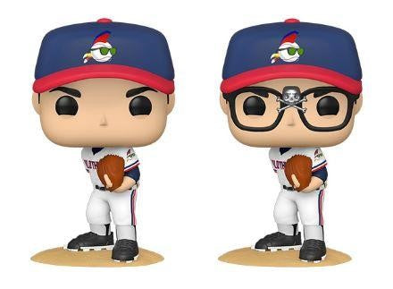 Major League - Ricky Vaughn (with chase) Pop! Vinyl Bundle