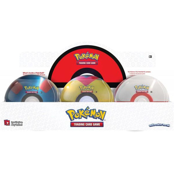 *Pre-order* Pokemon TCG Poké Ball Tin - Series 6 (ETA March)