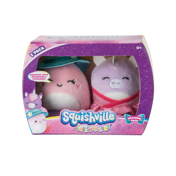 *Pre-order* SQUISHMALLOWS SQUISHVILLE Mini Plush (Squishville Mini Squishmallow 2 Pack) (ETA September)