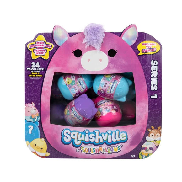 *Pre-order* SQUISHMALLOWS SQUISHVILLE Mystery Mini Plush (Squishville Mystery Mini Squishmallow) (ETA September)