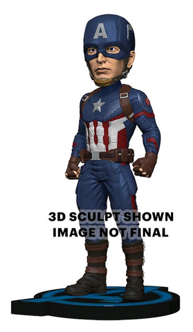 *Pre-order* Avengers 4: Endgame - Captain America Head Knocker (ETA Sept)