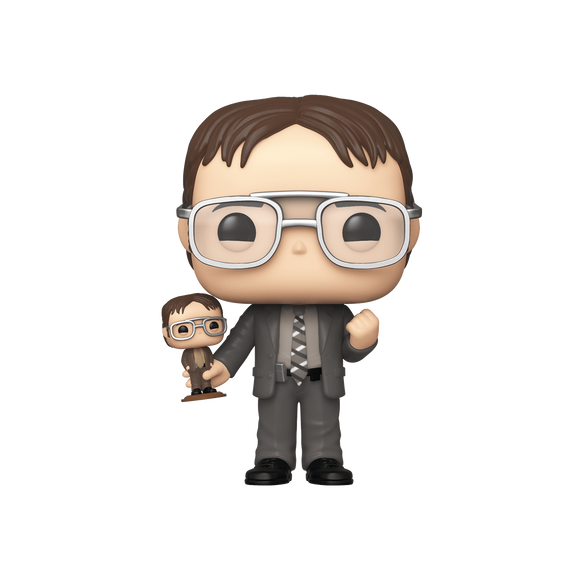 The Office - Dwight w/Bobblehead NYCC 2019 Exclusive Pop! Vinyl