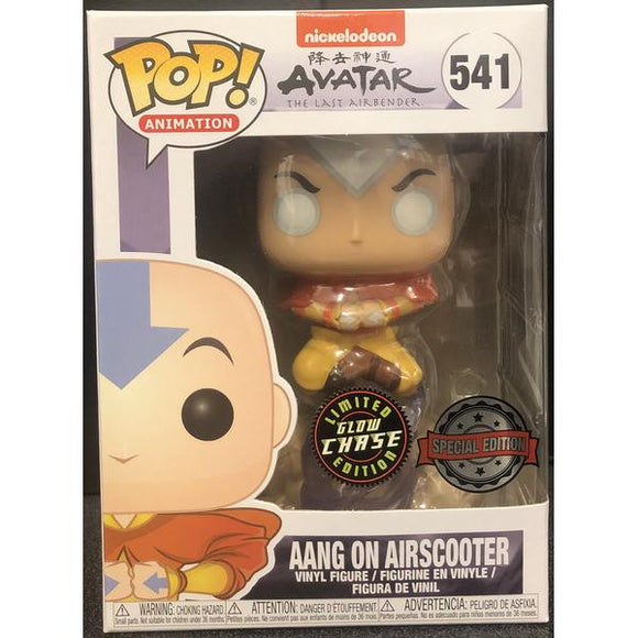Avatar The Last Airbender - Aang on Bubble US Exclusive CHASE Pop! Vinyl