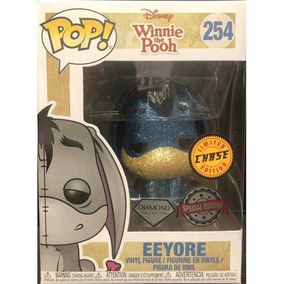 Winnie the Pooh - Eeyore Diamond Glitter US Exclusive Chase Pop! Vinyl