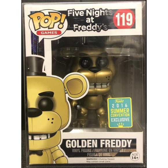 Five Nights At Freddy's Golden Freddy 2016 Summer Convention Pop! Vinyl