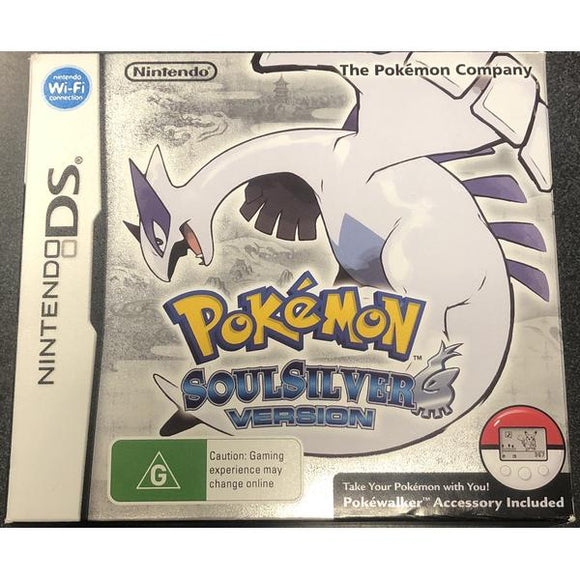 Pokemon Soul Silver Version DS (Pre-Played)
