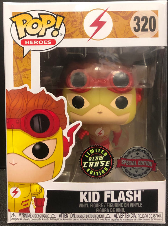 Young Justice - Kid Flash US Exclusive CHASE Pop! Vinyl