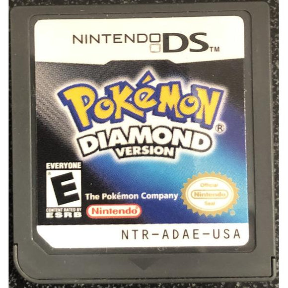 Pokemon Diamond Version DS (Pre-Played) - Cartridge Only