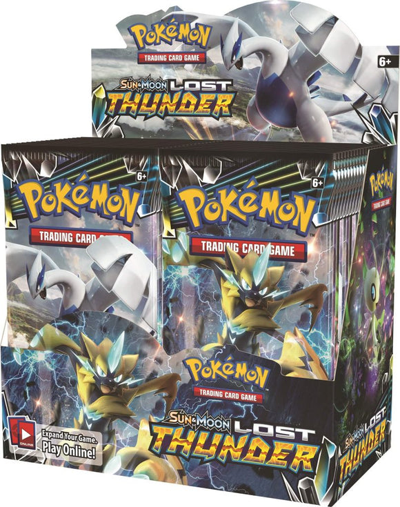Pokemon TCG Sun & Moon Lost Thunder Sealed Booster Box