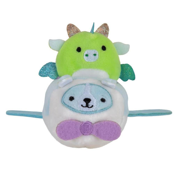 *Pre-order* SQUISHMALLOWS SQUISHVILLE Mini Plush (Squishville Mini Squishmallow in Vehicle) (ETA September)