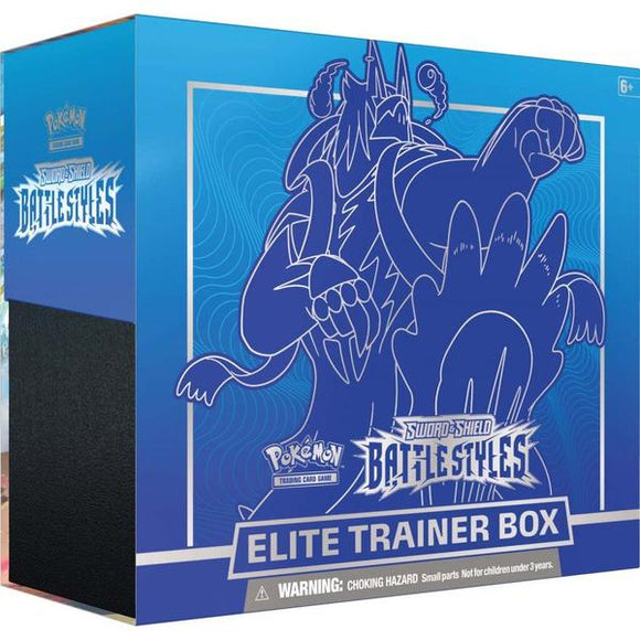 *Pre-order* Pokemon TCG Sword & Shield Battle Styles Elite Trainer Box (ETA 19th March)