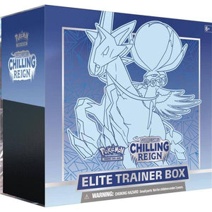 *Pre-order* Pokemon TCG Sword & Shield Chilling Reign Elite Trainer Box (ETA 18th June)