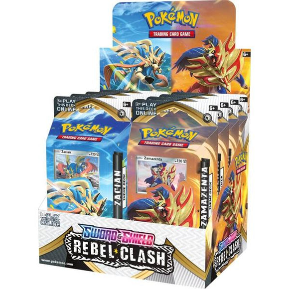 *Pre-order* Pokemon TCG Sword & Shield Rebel Clash Theme Deck (1st May)