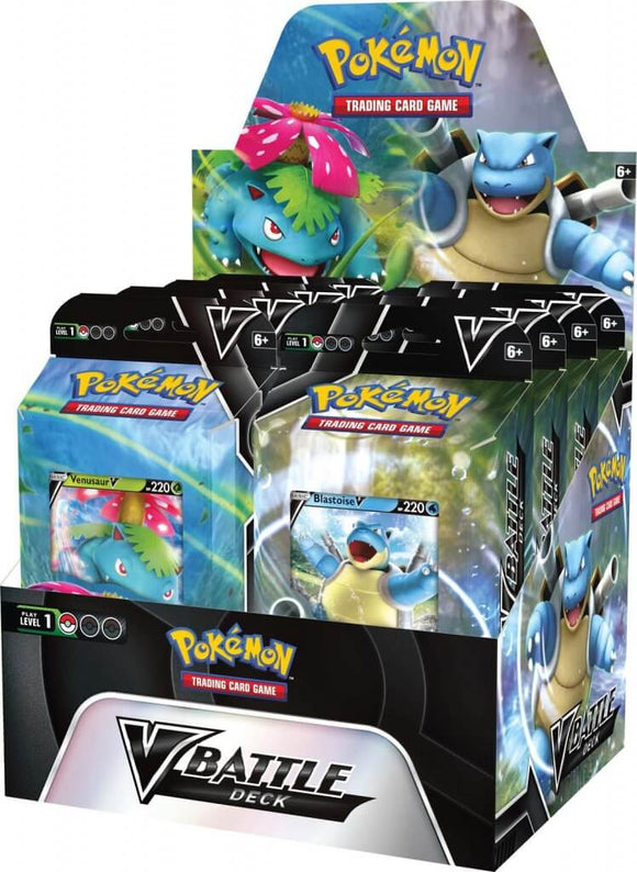 *Pre-order* Pokemon - TCG - Venusaur V & Blastoise V Battle Deck (ETA February)