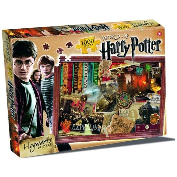 Harry Potter - Hogwarts 1000 Piece Jigsaw Puzzle