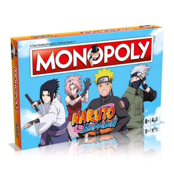 *Pre-order* Monopoly - Naruto Edition (ETA October)