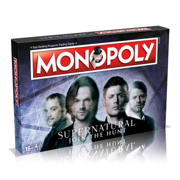 *Pre-order* Monopoly - Supernatural Edition (ETA November)