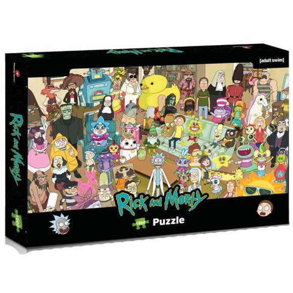 *Pre-order* Rick & Morty - Total Rickall 1000 piece Jigsaw Puzzle (ETA July)