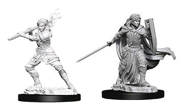 Dungeons & Dragons - Nolzur's Marvelous Unpainted Minis: Female Human Paladin